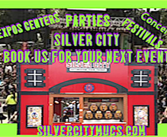 Silver City's Stand #3 at All American Rejects Concert!